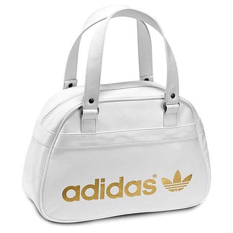 adidas adicolor bowling bag schulter tasche weissgold ebay