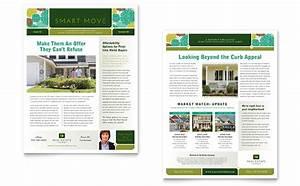 Real estate newsletter template design for Property newsletter template