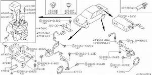 Infiniti G20 Abs Wheel Speed Sensor  Right  Front   Anti