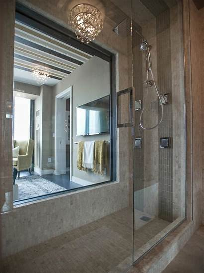 Master Bathroom Hgtv Shower Bedroom Oasis Windows