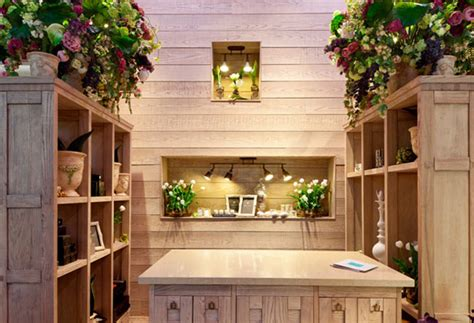 beautiful interior design flower shop  kiev