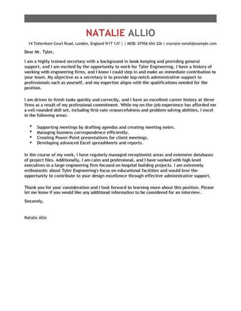 cover letter template cover letter templates
