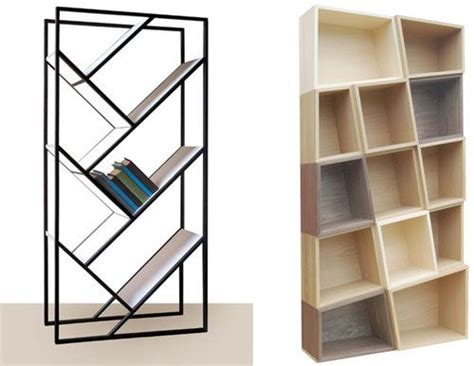 Slanted Bookcases by Slanted Bookcases The Puzzle Mix From Bloq And The V