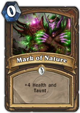hearthstone taunt deck druid of nature taunt hearthstone card