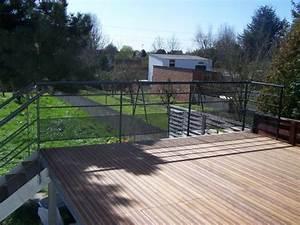 Terrasse Metallique Suspendue : terrasse suspendue nord pas de calais ~ Dallasstarsshop.com Idées de Décoration