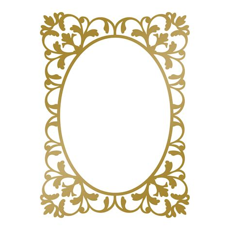 anna griffin hotfoil plate classic frame