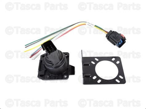 Trailer Wiring Harnes Chrysler by New Oem Mopar 7 Way Connector Trailer Tow Wiring Harness