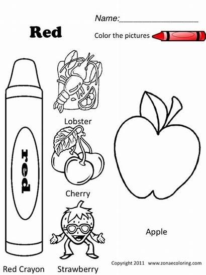 Coloring Worksheets Pages Spanish Things Preschool Kindergarten