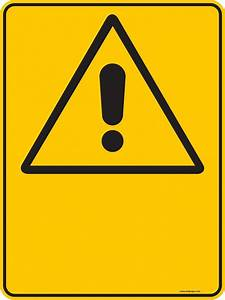 Warning Sign Template - ClipArt Best