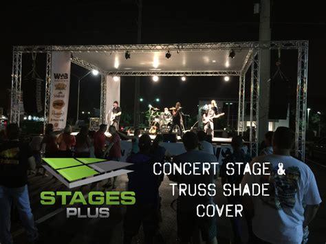 orlando stage rental portable stage shade cover orlando stage rental rent portable stages