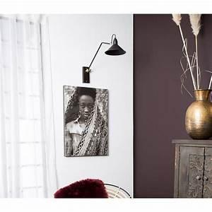 Appliques Murales Noires : applique murale articul e noire et laiton patt par ~ Edinachiropracticcenter.com Idées de Décoration