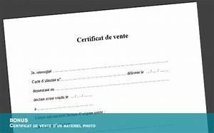 Certificat De Vente Voiture A Imprimer : t l charger gratuitement un certificat de vente pour un mat riel d 39 occasion ~ Gottalentnigeria.com Avis de Voitures