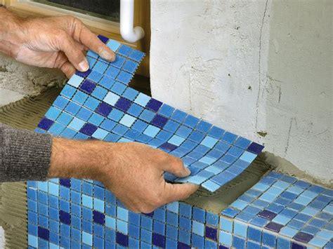 Mosaikfliesen Im Bad Verlegen  Ratgeber Bauhaus