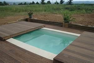 Bois Terrasse Piscine : poolabri abri piscine terrasse plat bois ~ Melissatoandfro.com Idées de Décoration