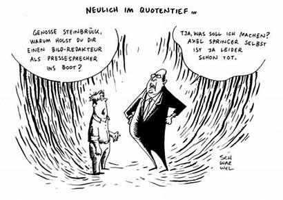 Entlassung Karikatur Schwarwel Toonpool Springer Axel 1828