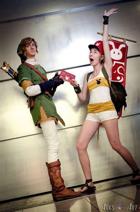 link  fem postman cosplays    run