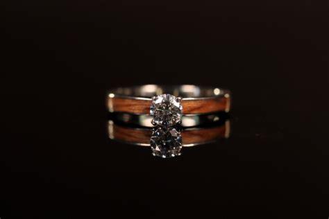 unique wooden wedding bands  women engagement rings