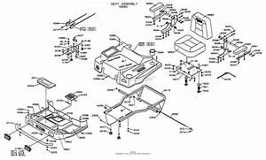 Dixon Ztr 5020  1998  Parts Diagram For Body