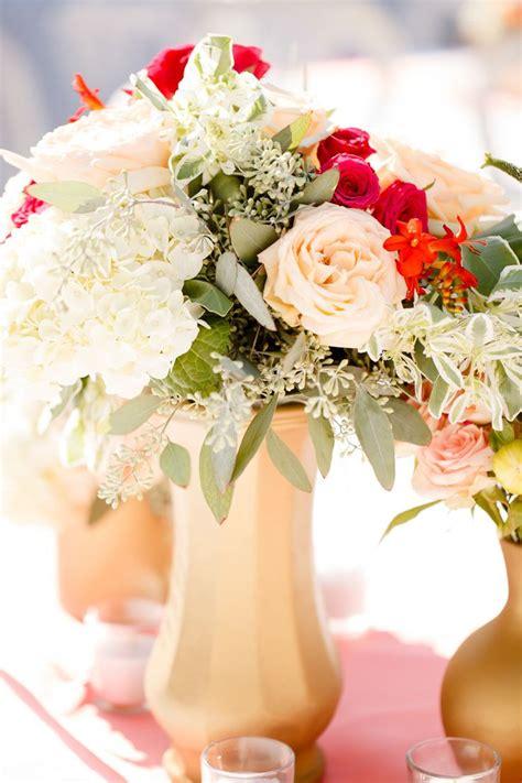 flower vases centerpieces best 25 gold vase centerpieces ideas on