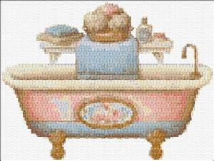 bathroom ann39s cross stitch patterns With bathroom cross stitch patterns free