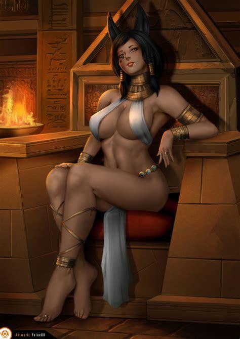 Anubis Princess Pharah By Felox08 Hentai Foundry