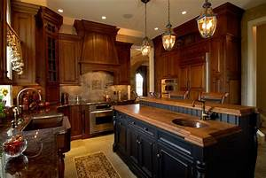 Traditional Cherry Kitchen Old World Style In Macungie
