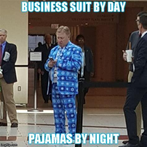 Tie Meme - pajamas plus tie suit imgflip