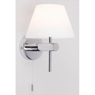 buy astro lighting roma wall light with pull cord switch from our recessed wall lights range tesco