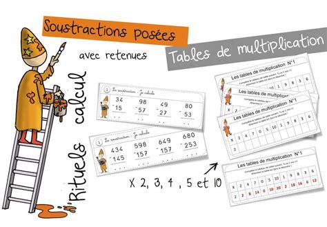 table de multiplication chronometre 28 images aix