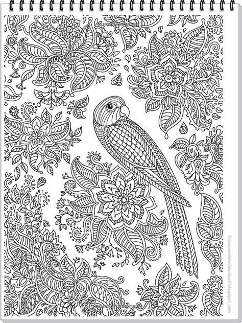 Ideal sind am anfang große mandala zum ausdrucken erwachsene mit breiten linien und viel platz. Papagei Mandala ausmalbilder zum ausdrucken-Parrot mandala coloring page free printable | Free ...