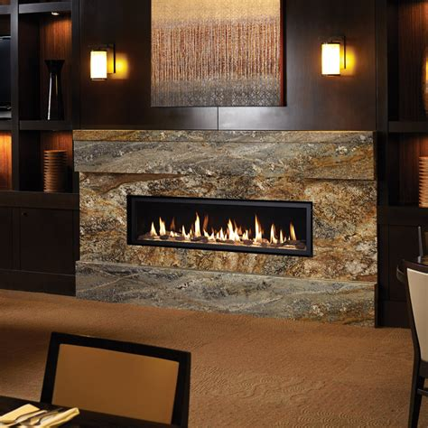 linear gas fireplace high output linear gas fireplaces american heritage