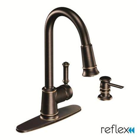 home depot moen kitchen faucets moen lindley 1 handle pull sprayer kitchen faucet