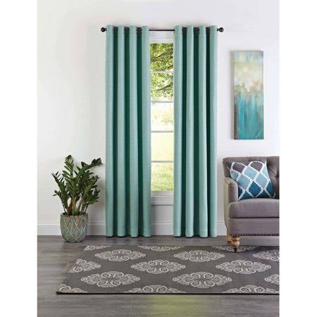 better homes and gardens curtains better homes and gardens basketweave curtain panel