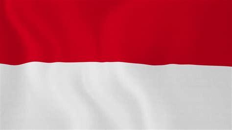 indonesia flag slider style waving   wind  cloud