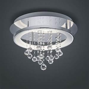 Deckenlampe Mit Led : led deckenlampe mit glas deko in sch nem design ~ Whattoseeinmadrid.com Haus und Dekorationen