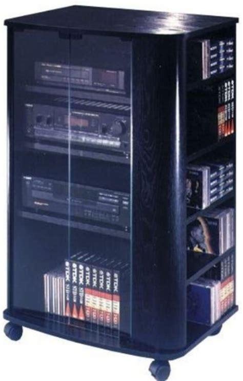 audio video storage cabinet audio furniture with glass doors elite el 694 audio and