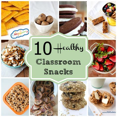 10 healthy classroom snacks 764 | 10 Healthy Classroom snacks