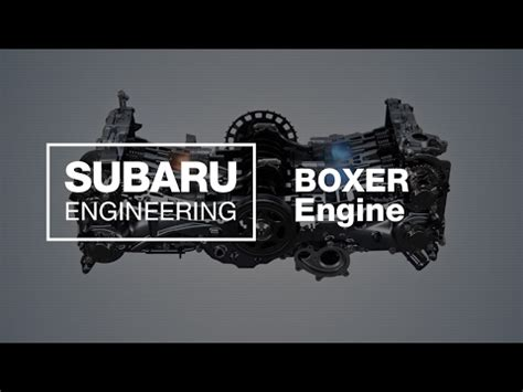 How Does The Subaru Boxer Engine Work Updated