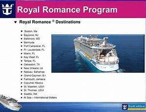royal caribbean wedding cruise packages weddings at sea With caribbean cruise honeymoon packages