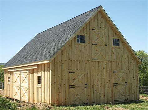 Professional Blueprints For Horse Barns