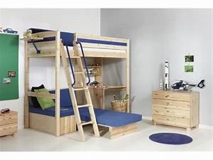 Etagenbett Für Kinder : hochbett mit schreibtisch f r das kinderzimmer ~ Frokenaadalensverden.com Haus und Dekorationen
