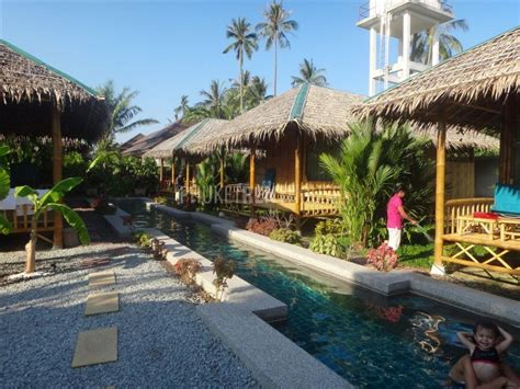 Raw3881 Bamboo Bungalow For Rent, Short And Long Term, In