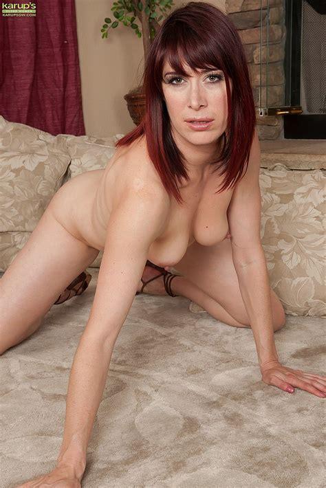 Redhead MILF Odile Show Off Her Sexy Body MILF Fox