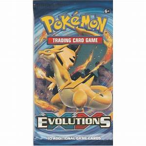 pokemon sealed booster pack 10 cards xy evolutions p