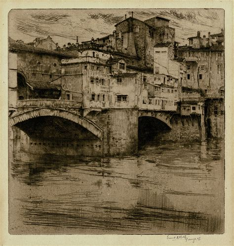 ponte vecchio florence  ernest david roth annex