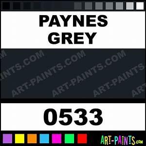 Paynes Grey Interactive Acrylic Paints - 0533 - Paynes ...