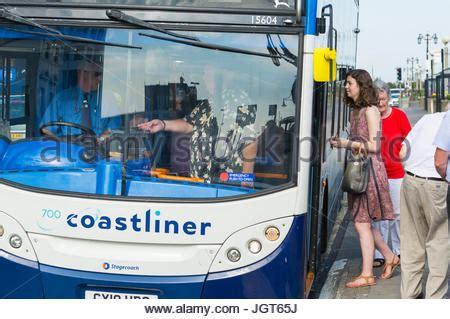 Stagecoach Coastliner Double Decker Bus On Southsea