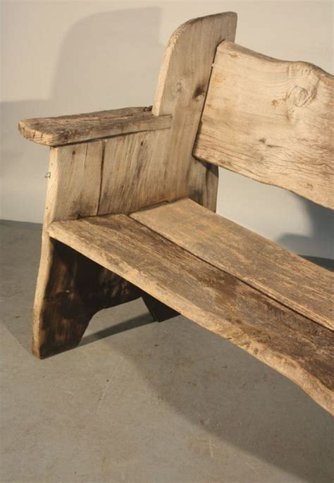 rustic scottish garden bench   unique collection