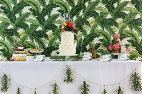 Tropical Shower by Tropical Baby Shower Foreva Events