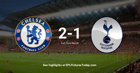 Sat 22 Feb 2020: Chelsea vs Tottenham Hotspur ...